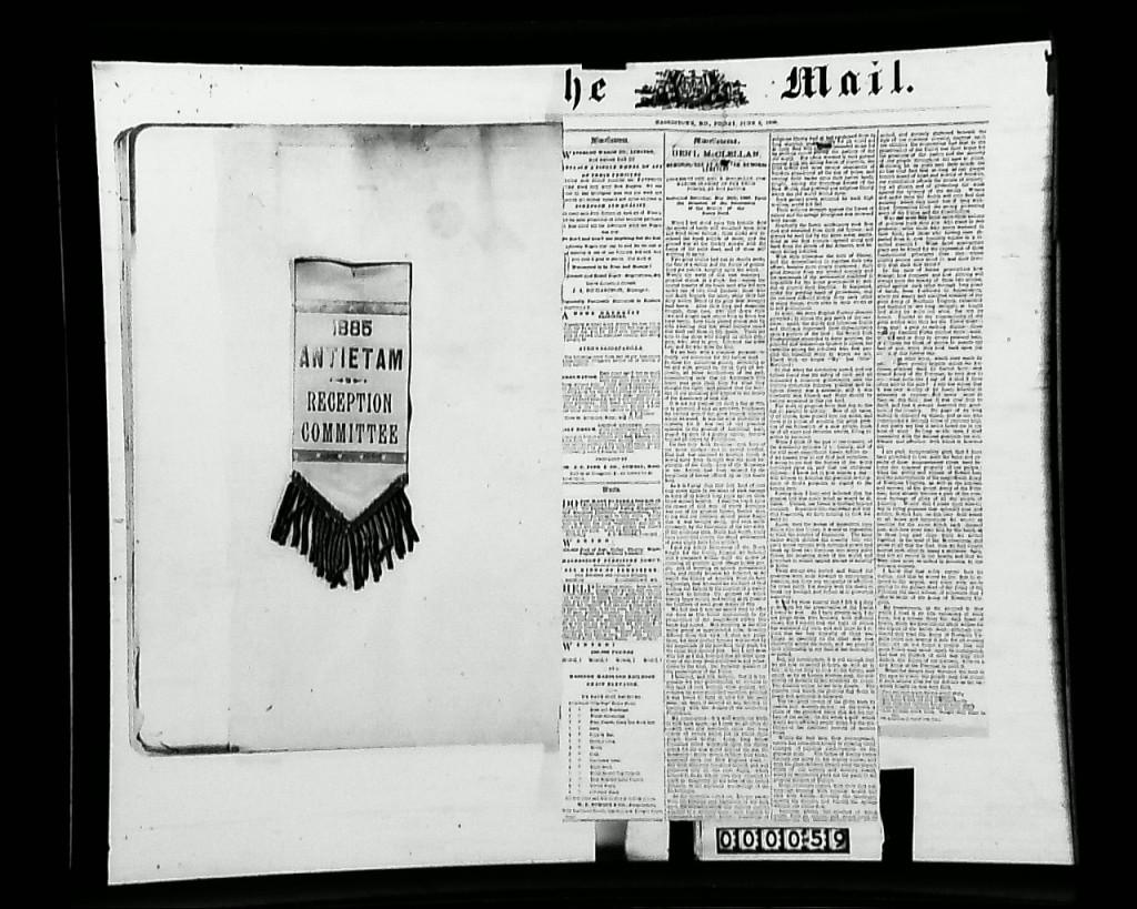 1885AntietamReceptionMemoir