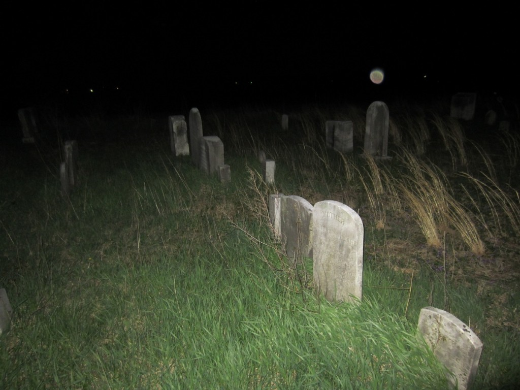 CemeteryBrightAboveStone