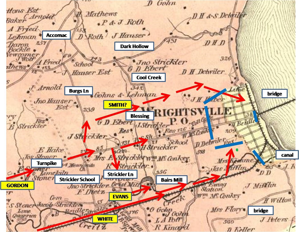 Wrightsville1876MapCWPositions
